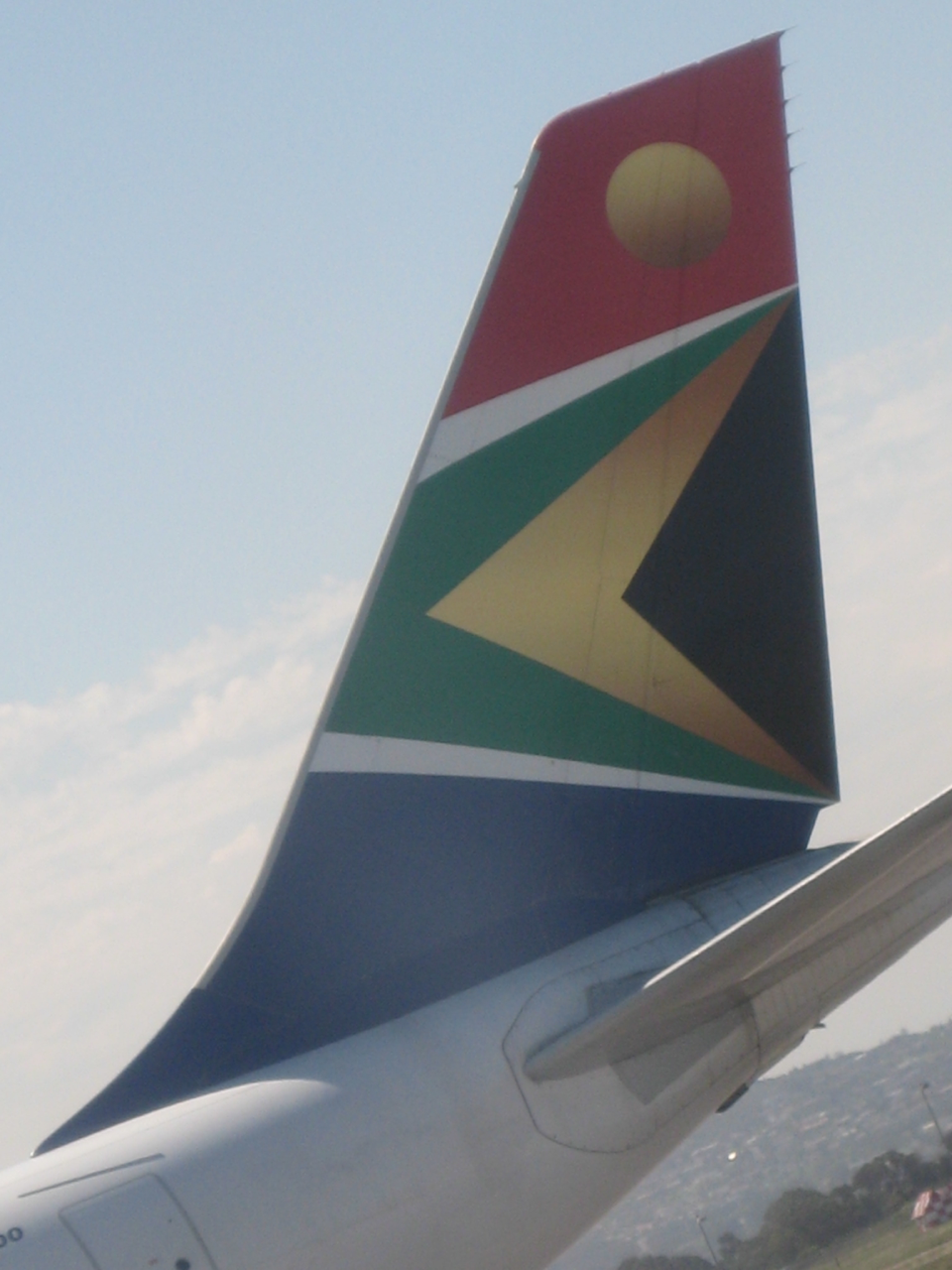 SAA_at_Johannesburg_Airport